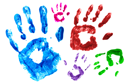Image result for children hand prints